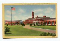 Linen Postcard - Shriners Hospital for Crippled Children - Greenville SC