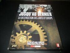 """COFFRET 3 DVD """"JUSQU'AU DERNIER : LA DESTRUCTION DES JUIFS D'EUROPE"""" docu guerre"""
