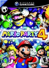 MARIO PARTY 4 GAMECUBE GAME PAL