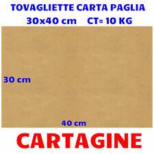 TOVAGLIETTE FOGLI IN CARTA PAGLIA GIALLA 30x40 CONFEZIONE 10 KG