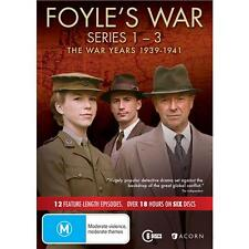 Foyle's War 1939 -1941 DVD, 2016, 5-Disc Set R4