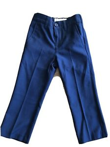 John Lewis Age 2 Boys Heirloom Collection Smart Navy Trousers