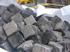 200 4X4X4 OLD ORIGINAL VICTORIAN GRANITE COBBLE SETTS  STONES ..... CUBES