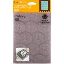 Cuttlebug 5X7 Embossing Folder By Anna Griffin - Flower Grid