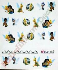 Tinker Bell Nail Art Stickers Water Decals-Sheet No.BLE1804