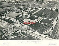 Photo Sud Aviation Usine de La Courneuve aircraft Aéronautique avion Factory