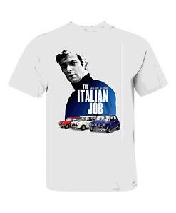 ITALIAN JOB T SHIRT WHITE 50TH ANNIVERSARY