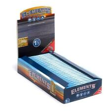 ELEMENTS  25 Pack 1 Box Elements 1 1/4 (1.25) Rolling Paper Ultra Thin Rice