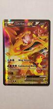 FULL ART Charizard EX ULTRA RARE XY121 Red-Blue Black Star Promo Pokemon Card LP