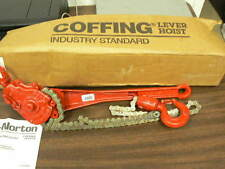 COFFING G SERIES RATCHET LEVER HOIST - 3/4 TON CAPACITY - DOUBLE PAWL