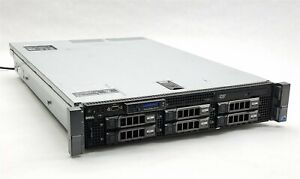 Dell PowerEdge R710 Server 2*E5620 2.40GHz CPU 48GB RAM 6*2TB HDD Perc H700