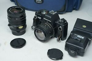 Praktica BX20 35mm SLR Camera with 50mm & Sigma 35-70mm lenses Made In Germany