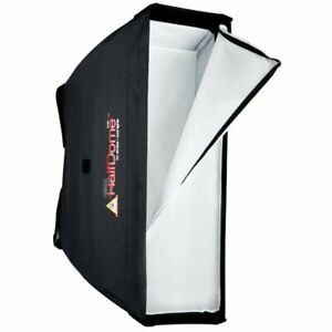 Photoflex Softbox HalfDome 40 x 120 cm - Weichstrahler - Reflektor - Studiobox