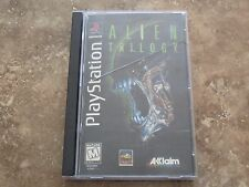Alien Trilogy Long Box Sony PlayStation 1 PS1 COMPLETE Game+Case+Manual