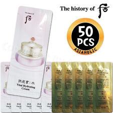The history of Whoo Vital Hydrating Cream 1ml x 50pcs Soo Yeon Newist Version