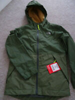 The North Face boys Warm Storm hooded jacket coat Age 10-12 years NEW+TAGS