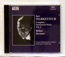 CHRISTOPHER LYNDON-GEE - MARKEVITCH rebus / hymnes MARCO POLO CD NM
