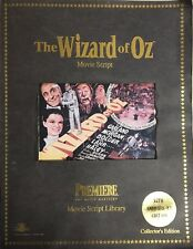 The Wizard Of Oz Movie Script: 55Th Anniversary (1994) Collector's Edition