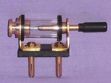 Crystal Radio -Galena # COPY CRYSTAL DETECTOR Horizontal 1920-New Brass Exellent