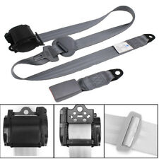 3-point Retractable Heavy-duty Seat Belt Long Adjustable For Car SUV Truck RV