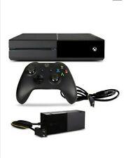Microsoft Xbox One 500GB Spielekonsole - Schwarz mit Controller und Kabel