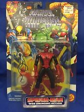 Web Swinging Red Black Spiderman Marvel Universe Action Figure MOC ToyBiz 90s