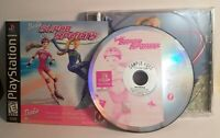 Barbie Super Sports Sony Playstation PS1 Video Game Complete Black Label FREE SH