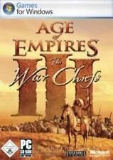 AGE OF EMPIRES 3 AddOn WAR CHIEFS * DEUTSCH ** Sehr Guter Zustand