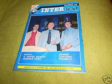 INTER  FOOTBALL  CLUB  NR  10  OTTOBRE 1980  POSTER GIGANTE  DI ORIALI