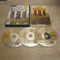 Age of Empires 3 III Windows PC Game Complete w Manual Free UK P+P