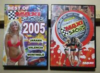 Maxi Tuning Lot 2 DVD  Shows 2004+2005 Jarama, Valencia, Montmeló