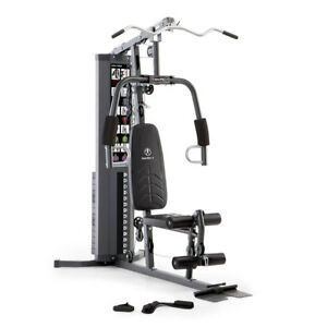 Marcy 150 lb. Stack Weight Home Gym MWM-4965 Best Full Tricep Lat Butterfly Curl