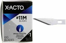 #11M X-ACTO X691 Broad Tip Knife Blades 100pc