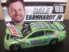 Dale Earnhardt Jr 2017 Mountain Dew Talladega Raced 1/24 NASCAR Ride with Dale