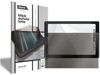 2x Protection pour Acer Iconia Tab 10 A3-A40 (oblong) d'écran Anti-Espion