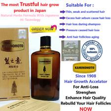 KAMINOMOTO Hair Treatment, Growth Accelerator, Anti loss 150mL Tonic and Serum