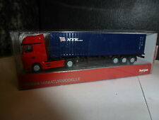 """Herpa,Mercedes-Benz Actros Gigaspace Container-Sattelzug """"NYK"""""""