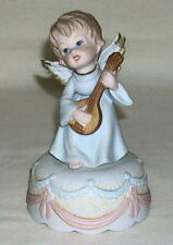 Vintage 1982 Lefton Music Box Christopher Collection plays Amazing Grace Working