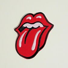 """The Rolling Stones Themed Embroidered Iron/Sew On 3.5 """" Tall Patch"""