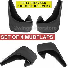 Mud Flaps for Peugeot 207 set of 4, Rear and Front