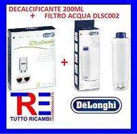 DECALCIFICANTE 200ML 5513296011+FILTRO  5513292811 MACCHINA CAFFE' DE LONGHI