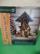 Department 56 North Pole Woods Series Trim-A-Tree Factory #56884