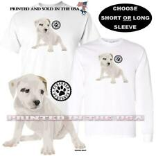 Puppies Rule American Bulldog Dog Breed Purebred Logo Series Graphic T Shirt