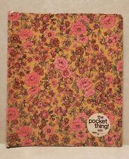 Vintage Mead Office Organizer Pockets Notebook Binder 60s 70s