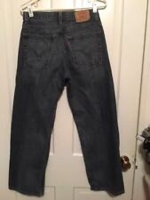 LEVI'S 569 LOOSE STRAIGHT SIZE 18 REGULAR 29X29 JEANS