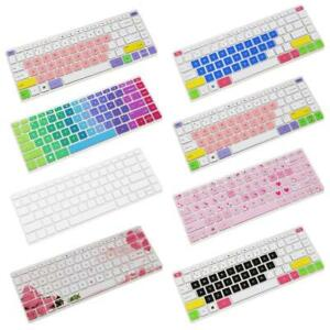 Silicone Keyboard Cover Skin For 14 inch HP Pavilion S4C1