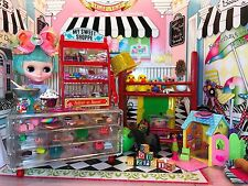 Dollhouse Barbie Blythe Playscale Barbie 1/6 Deluxe Sweet N Fun Shoppe Candy Toy