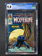 Marvel Comics Presents #8 CGC 9.8 (1989) - Wolverine & Man-Thing