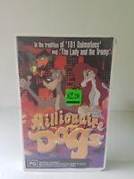 Millionaire dogs ex rental Eagle entertainment rare VHS video tape GC