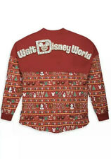 Disney Parks Spirit Jersey WDW Snack Food Christmas Holiday Adult XS New W Tags
